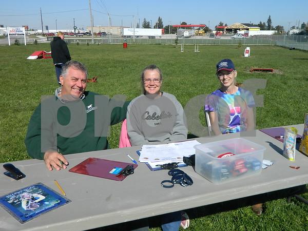 Left to right: Rick Edington, Donna Edington, and Kalen Schmidt