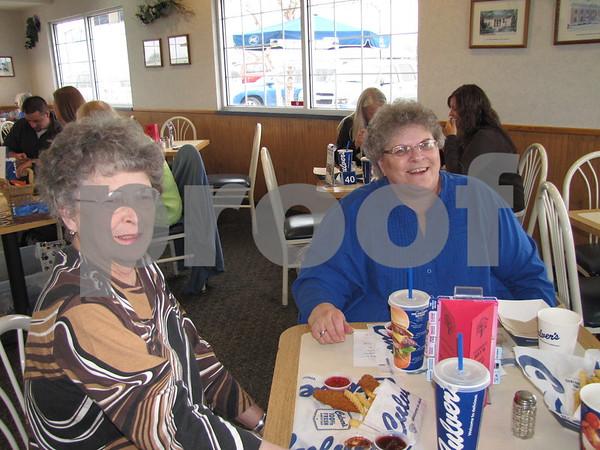 Barb Kilmer and Sharon Winn