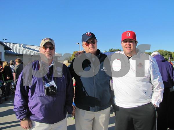Charlie Harrigan, Mike Devine, and Joe McCarthy