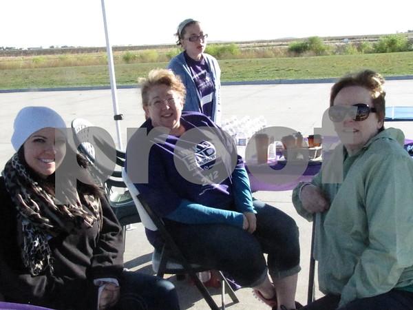 Kaylia Blomberg, Cheryl Sherry, and Lynn Petersen.