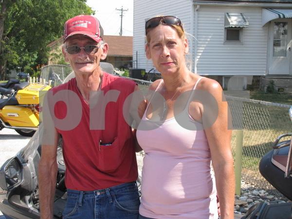 Mike Wirth and Kathy O'Grady