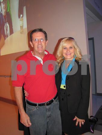 Ted Beran and Deanne Zuspann
