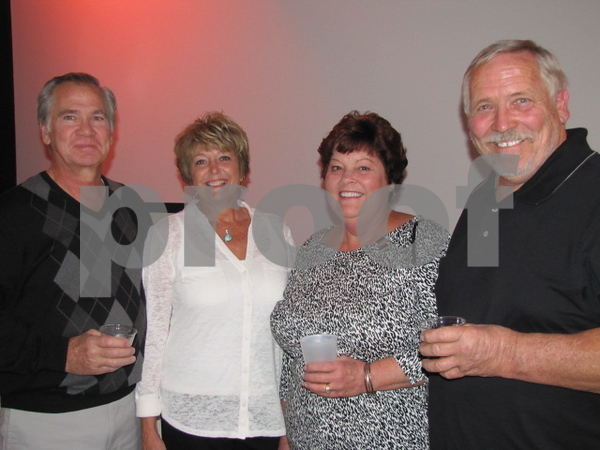 Rollie and JoAnn Hunter, and Kathy and Randy Hunter