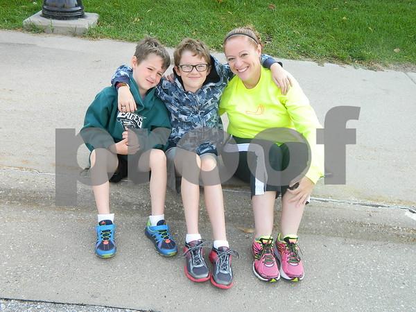 Dana, Owen and Aidan Recker
