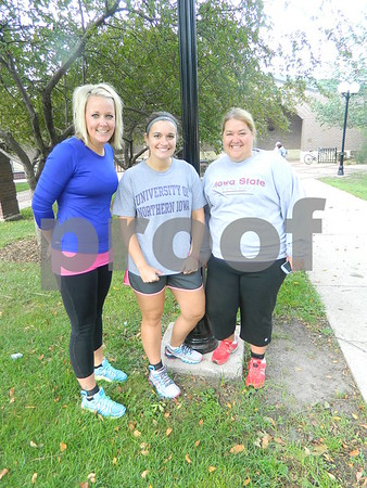 Left to right: Betty Willard, Erin Milner, Angie Anderson