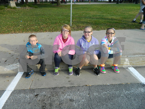 Left to right: Bradley Lowe, Taylor Lowe, Marissa Williams  and Morgan Lowe