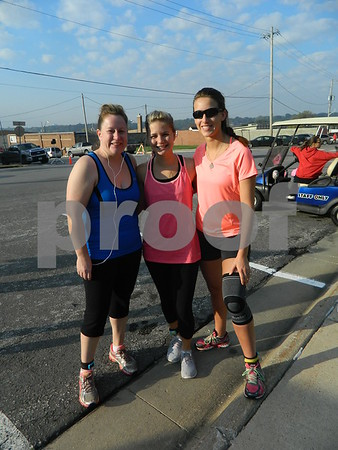 Left to right: Amy Palmer, Chelsea Maier, and Susie Mckdonald