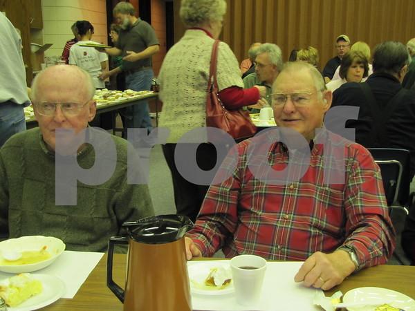 Bob Nordquist and Everett Field