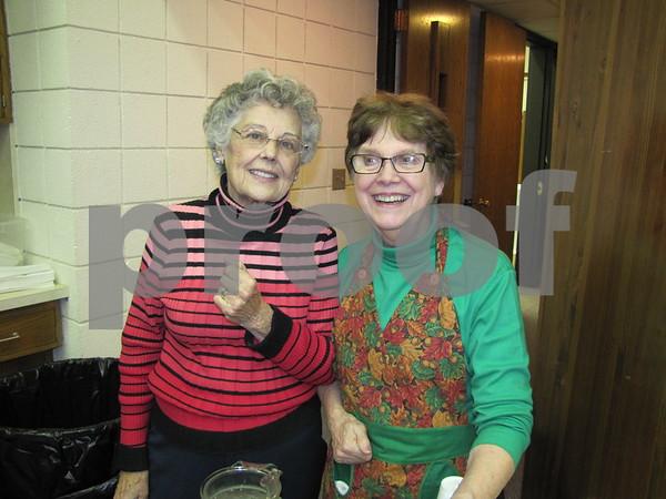 Betty Donahoe and Karen DeWinter