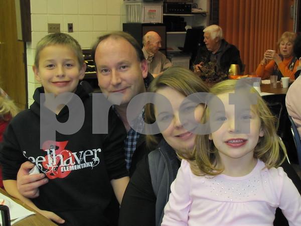 Carson, Jason, Denise, and Joscelyn Kahler