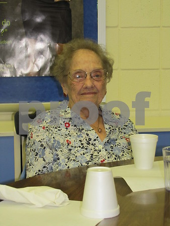 Phyllis Vasbinder attended the Election Night Soup and Pie Supper at First Congregational UCC church.