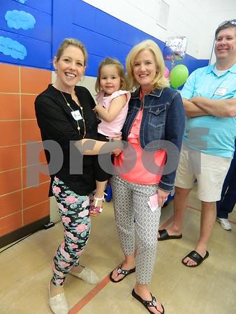 Left to right: Amy Seward, Lyia Seward, and Nancy Thompson