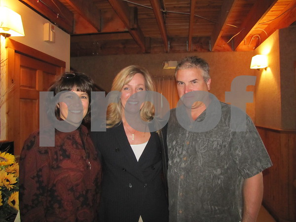 Teresa Naughton, Dawn Larson, and Mark Winninger