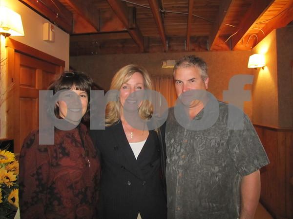 Teresa Naughton, Dawn Larson, and Mark Winninger