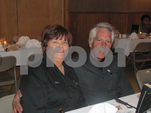 Vera and Howard Hartman attended the fundraiser for LifeWorks.