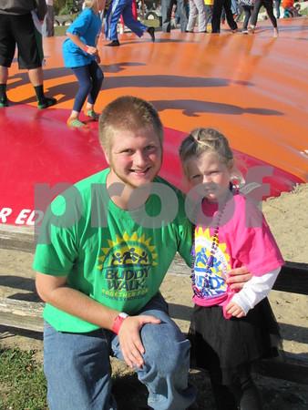 Andris Kirsis and his cousin Jenna Conlon.