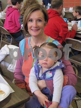 Patty Donney and little Tricia Thorsbakken