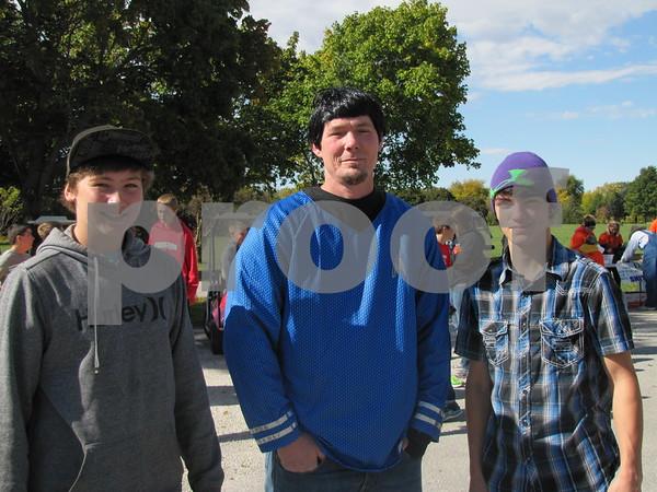 Austin Jones, Greg Brown, and Lucas Brown