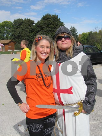 Jennifer Martin, Project Manager of the 5K event, and Jenny Johnson, Founder & Director of IGBFD&Beyond.