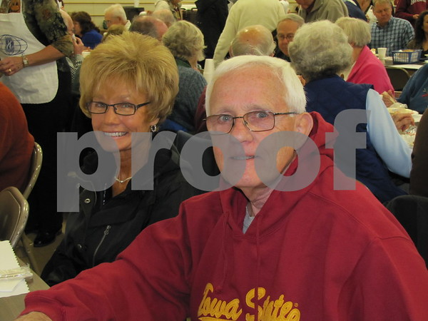 Jan and Dennie Friederichs attended the Golden Kiwanis' Soup Supper fundraiser.
