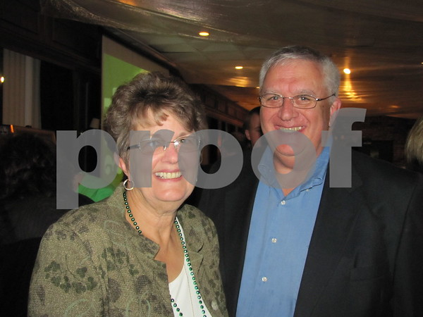 Alyce and Mick Flattery attended the St. Edmond Ball.