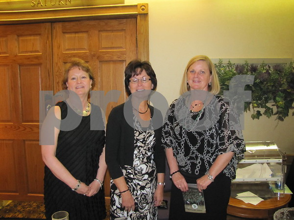 Ann Brungardt, Marty Payne, and Connie Miklo
