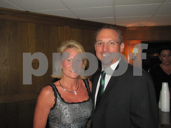 Tami and Tim O'Tool attended the St. Edmond Ball.