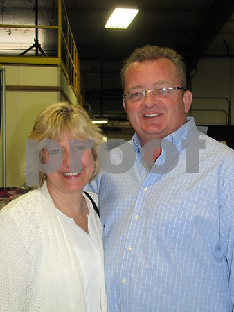 Lisa and Dean Wendell attended the cake auction to benefit DSAOC.