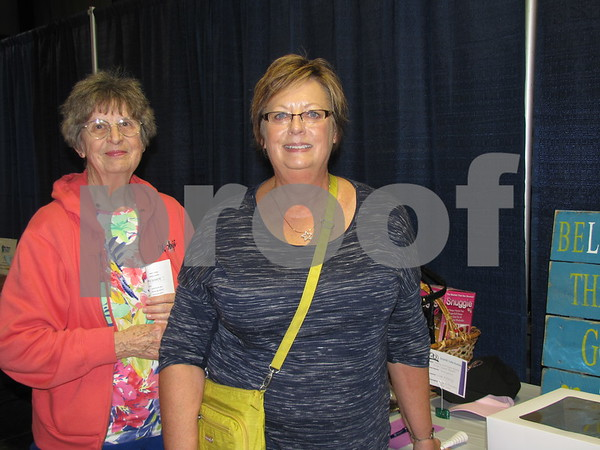 Pat Chalstrom and her daughter Darci Mersch attended the DSAOC cake auction.