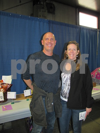 Michael Abbott and Beth Hayden attended the DSAOC cake auction/fundraiser held at ICCC East Campus.