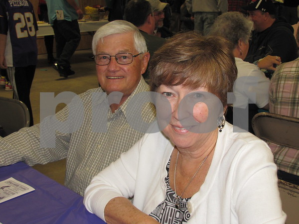 Jerry and Kieran Einwalter attended the fundraiser for D/SAOC.