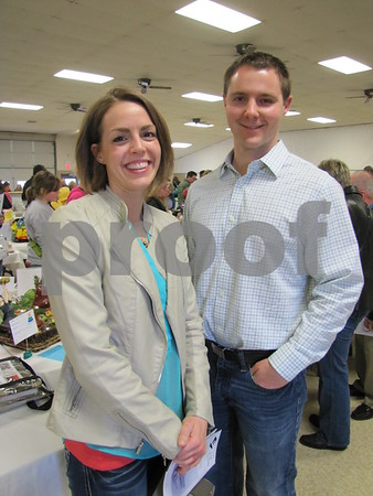Kim and Dr. Josh Mason attended the D/SAOC cake auction.