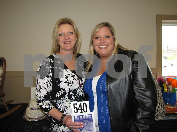 Leslie Wagers and Katie Deal