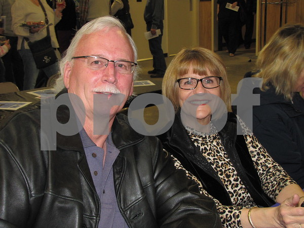 Steve Cook and Judy Payne attended the fundraiser for D/SAOC.
