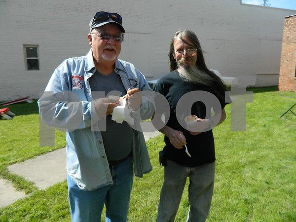 Left to right: Dick Messerly and Jerry Bergman