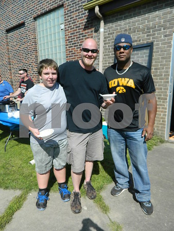 Left to right: Byron Griffel, Troy Harper, and Chad Friesth