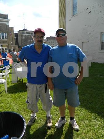 left to right: Wayne Ely and Kenton Ricke