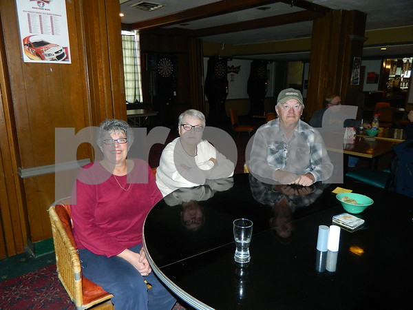 left to right: Carol Link, Paula Johnson,  and Doug Thompson