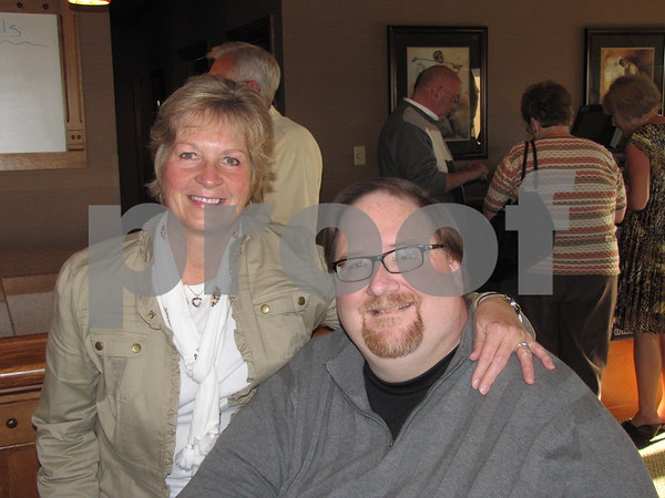Karen and Bob Wood at the Lifeworks Foundation fundraiser held at the Willow Ridge Restaurant.