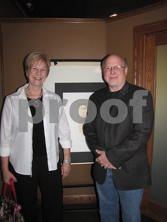 """Josie and Bob Campbell attended the """"Dinner with Chef Michael"""" fundraiser for Lifeworks Foundation held at the Willow Ridge Restaurant."""