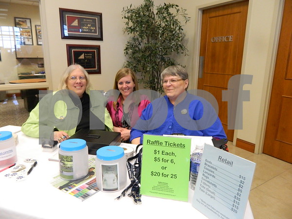 Right to left: Sharon Winon, Tania Elliott, Cynde Loueen