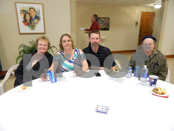 Left to right: Debbie Deal, Chantell Allbee, Dave Allbee, Leonard Deal