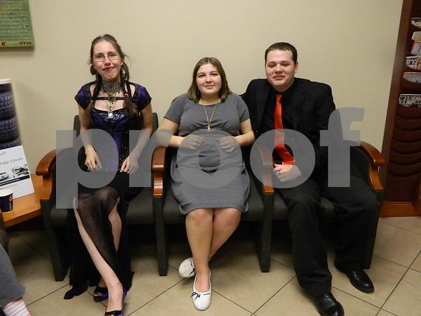 Left to right: Jamila Hulbert Kepple, Audrey Robbins, and Jon Yos