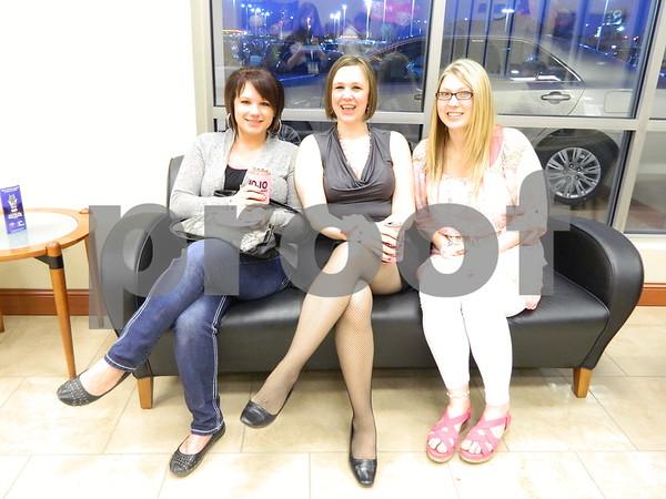 Left to right: Kari Lund, Amanda Breeser, and Stacy Lennon