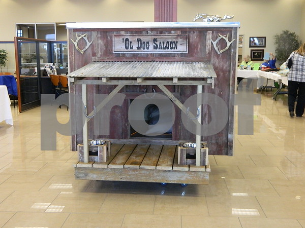 The special dog house that was auctioned off