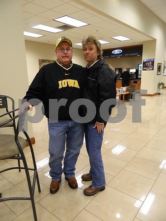 Tom and Sharon Fraser