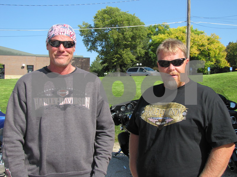 Jeff Davis and Darin Ladlie