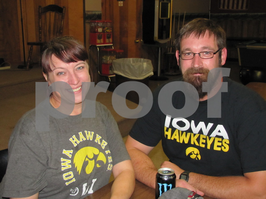 Shannan Fay and Jeb Knutson were helping out with the event.