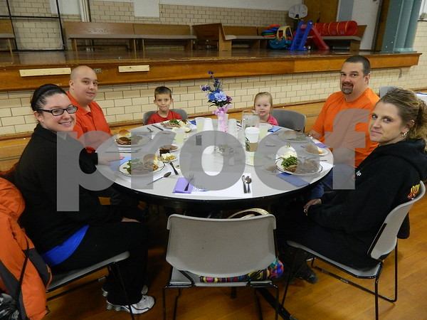 left to right: The Brayton Family and the Welter Family