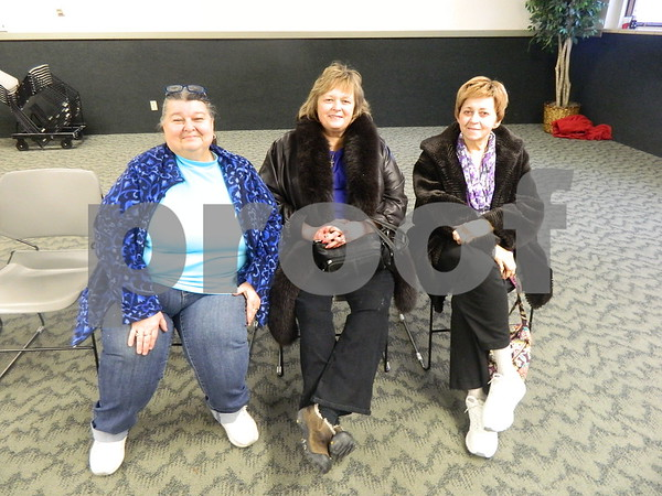 left to right: Mary Ellen Koestner, Mary Clausen, Kathryn Koop